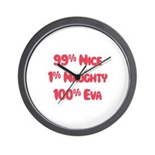 Eva - 1% Naughty Wall Clock