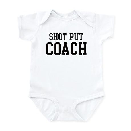 SHOT PUT Coach Infant Bodysuit