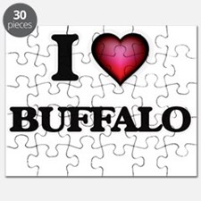 I Love Buffalo Puzzle