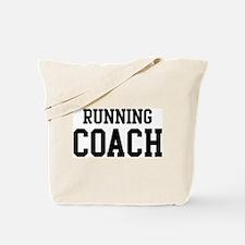 RUNNING Coach Tote Bag