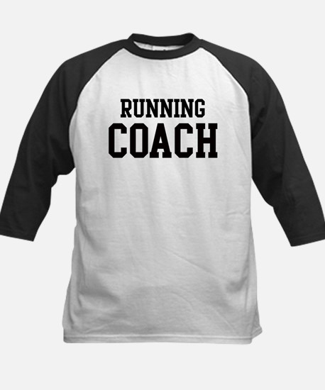 RUNNING Coach Kids Baseball Jersey