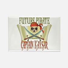 Captain Kaysar Rectangle Magnet