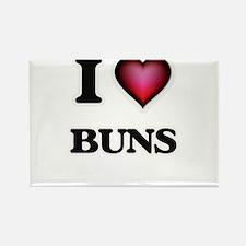 I Love Buns Magnets
