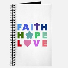Faith Hope Love Journal