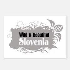 Cute Slovenia Postcards (Package of 8)