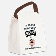 Funny Old time radio Canvas Lunch Bag