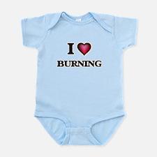 I Love Burning Body Suit