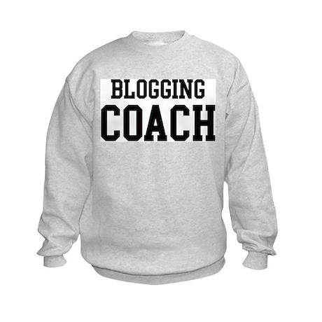 BLOGGING Coach Kids Sweatshirt