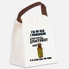 Cool Old time radio Canvas Lunch Bag