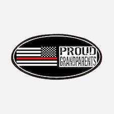 Firefighter: Proud Grandparents (Black Flag, Patch