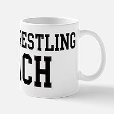 BEACH WRESTLING Coach Mug