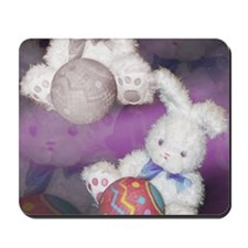 "Ostara ""Easter"" Bunny w/ Ball Mousepad"