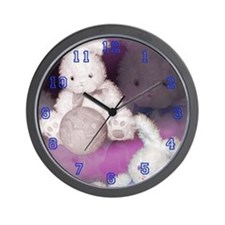 "Ostara ""Easter"" Bunny w/ Ball Wall Clock"