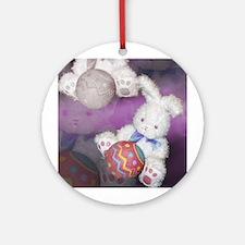 "Ostara ""Easter"" Bunny w/ Ball Keepsake (Round)"
