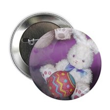 "Ostara ""Easter"" Bunny w/ Ball Button"