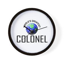 World's Greatest COLONEL Wall Clock