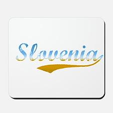Slovenia beach flanger Mousepad