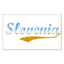 Slovenia beach flanger Rectangle Decal