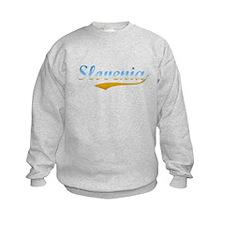 Slovenia beach flanger Sweatshirt