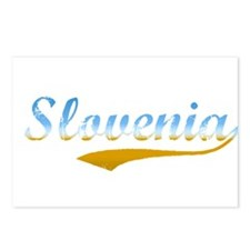 Slovenia beach flanger Postcards (Package of 8)