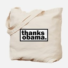 Cute Funny obama Tote Bag
