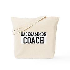 BACKGAMMON Coach Tote Bag
