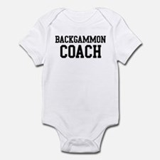 BACKGAMMON Coach Infant Bodysuit