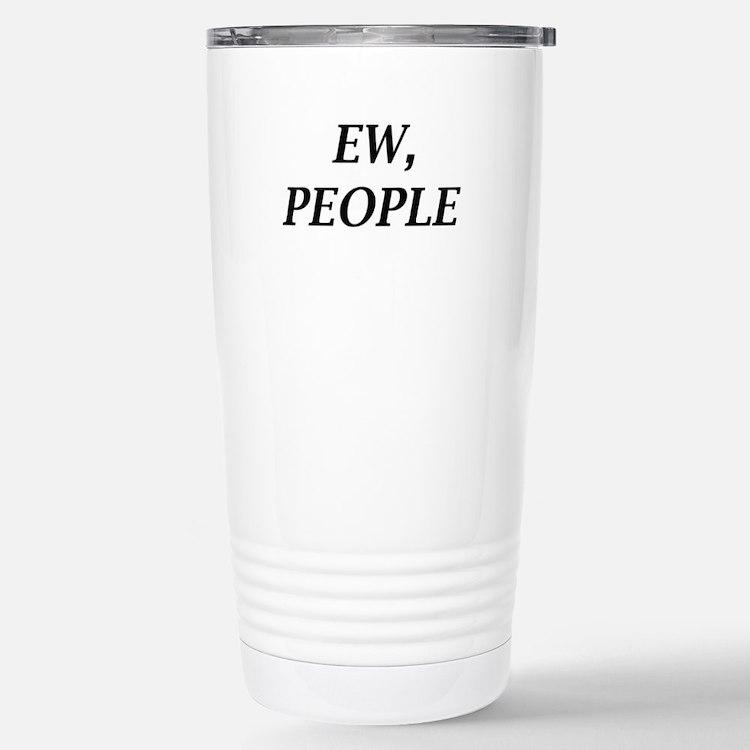 Cute Antisocial Travel Mug