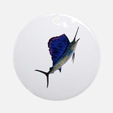 SAILFISH Round Ornament