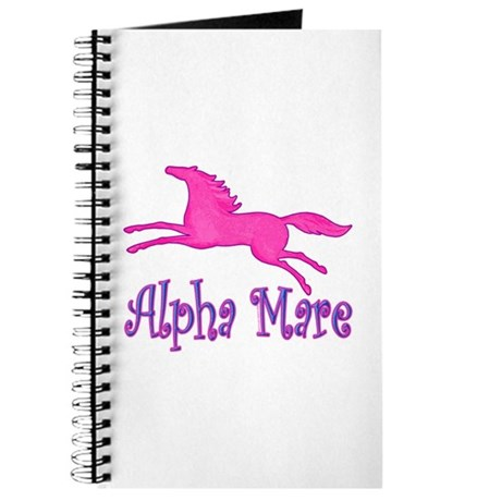 Alpha Mare. Pink Horse Journal