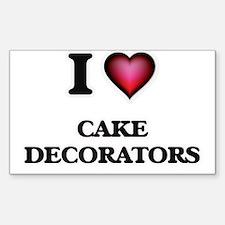 I love Cake Decorators Decal