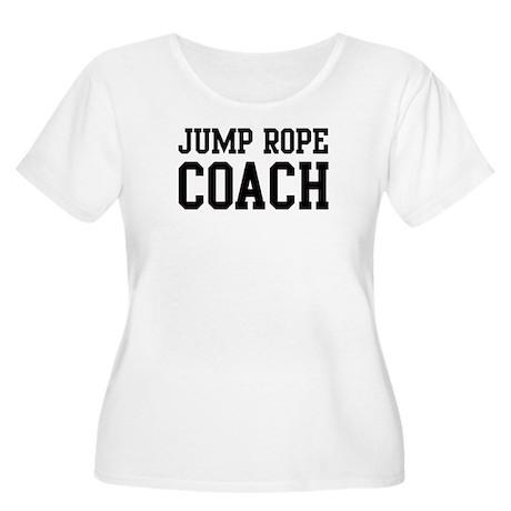 JUMP ROPE Coach Women's Plus Size Scoop Neck T-Shi