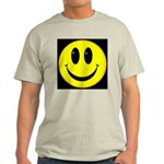 Happy Face Ash Grey T-Shirt