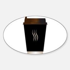 Paper Coffee Cup Decal