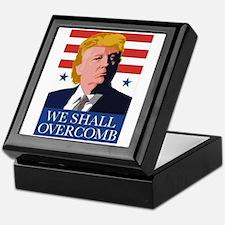 Donald Trump Combover Keepsake Box