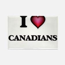 I love Canadians Magnets