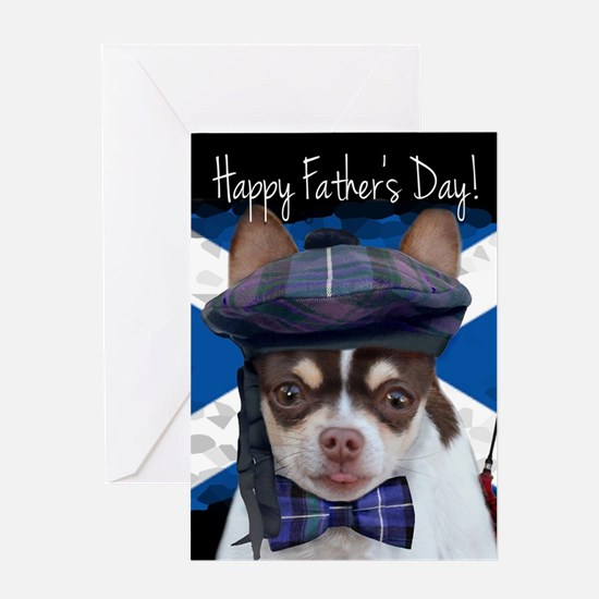 Father's Day Chihuahua Dog Greeting Cards