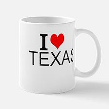 I Love Texas Mugs