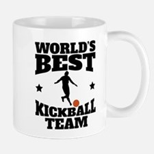 Worlds Best Kickball Team Mugs