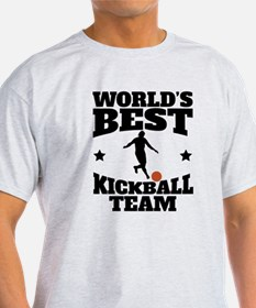 Worlds Best Kickball Team T-Shirt
