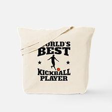 Worlds Best Kickball Player Tote Bag