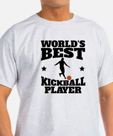 Worlds Best Kickball Player T-Shirt