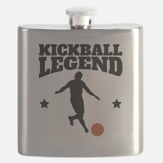 Kickball Legend Flask