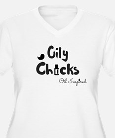 Oily Chicks Plus Size T-Shirt