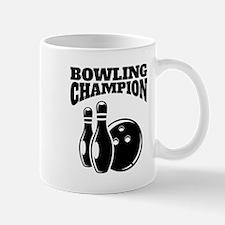 Bowling Champion Mugs