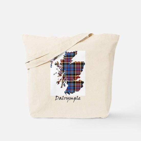 Map - Dalrymple Tote Bag