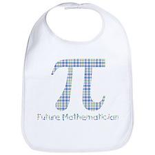 Future Mathematician Boy Bib