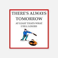 Curling joke Sticker