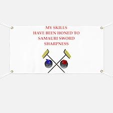 Curling joke Banner