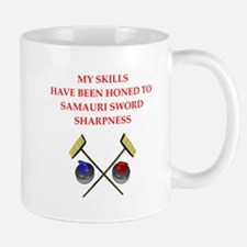 Curling joke Mugs